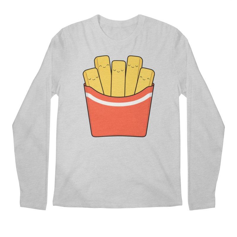 Best Fries Men's Longsleeve T-Shirt by Kim Vervuurt