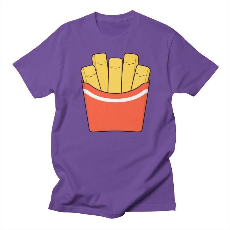 Best Fries Women's Regular Unisex T-Shirt by Kim Vervuurt