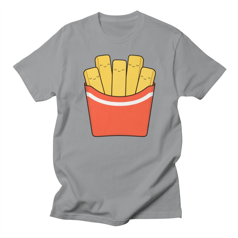 Best Fries Women's Regular Unisex T-Shirt by Kim Vervuurt
