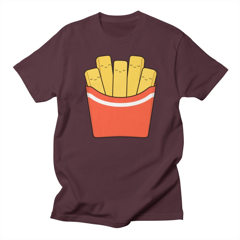 Best Fries Men's T-Shirt by Kim Vervuurt
