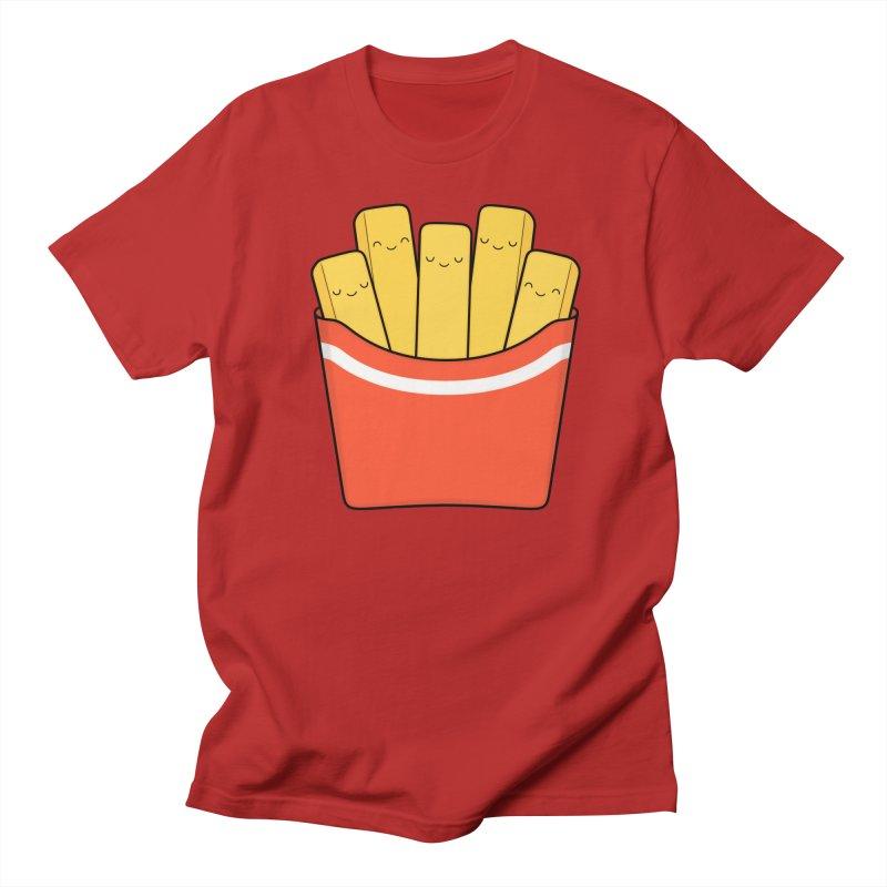 Best Fries Women's Unisex T-Shirt by Kim Vervuurt
