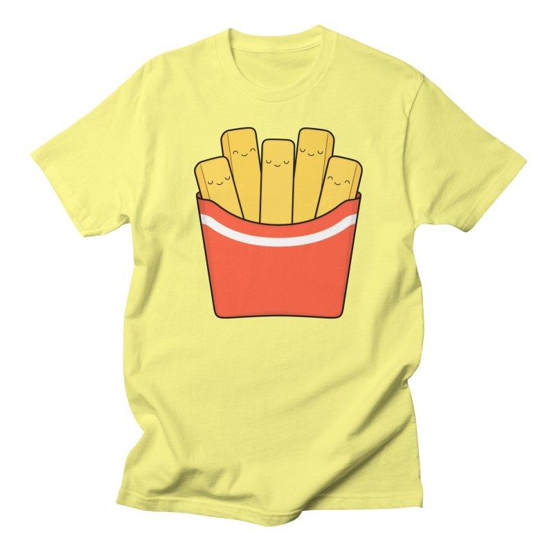 Best Fries Men's Regular T-Shirt by Kim Vervuurt