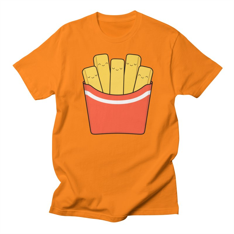 Best Fries Men's Regular T-Shirt by Kim Vervuurt