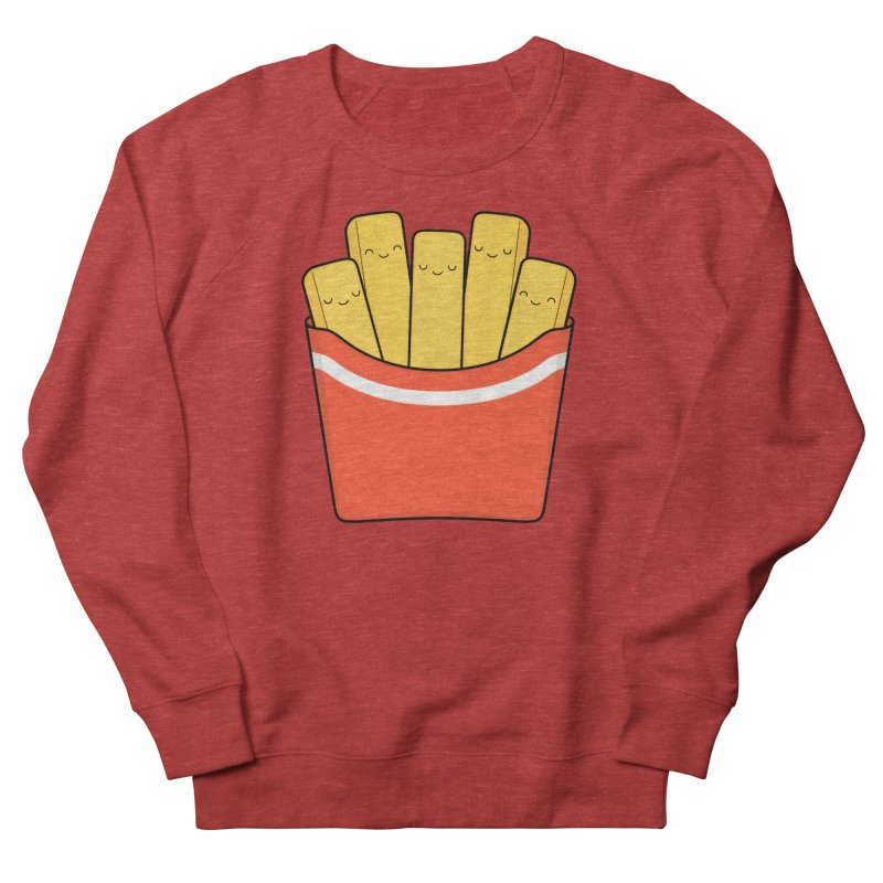 Best Fries Women's French Terry Sweatshirt by Kim Vervuurt