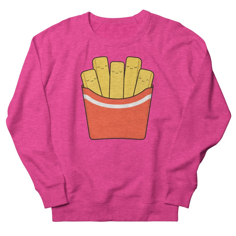 Best Fries Women's French Terry Sweatshirt by Kim Vervuurt