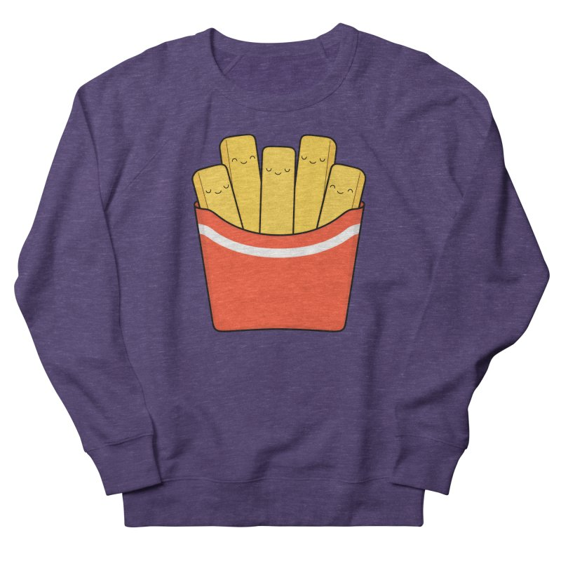 Best Fries Men's French Terry Sweatshirt by Kim Vervuurt
