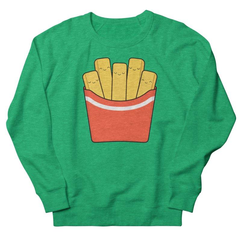 Best Fries Men's Sweatshirt by Kim Vervuurt