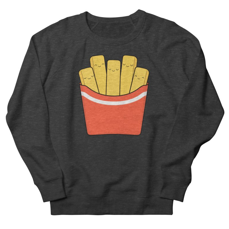 Best Fries Men's Sweatshirt by Kim Vervuurt