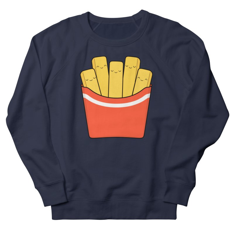 Best Fries Men's French Terry Sweatshirt by Kim Vervuurt