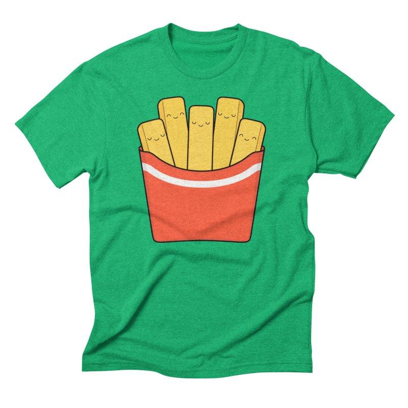 Best Fries Men's Triblend T-Shirt by Kim Vervuurt