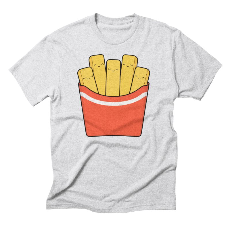 Best Fries Men's Triblend T-Shirt by Kim Vervuurt