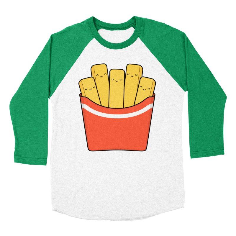 Best Fries Women's Baseball Triblend T-Shirt by Kim Vervuurt