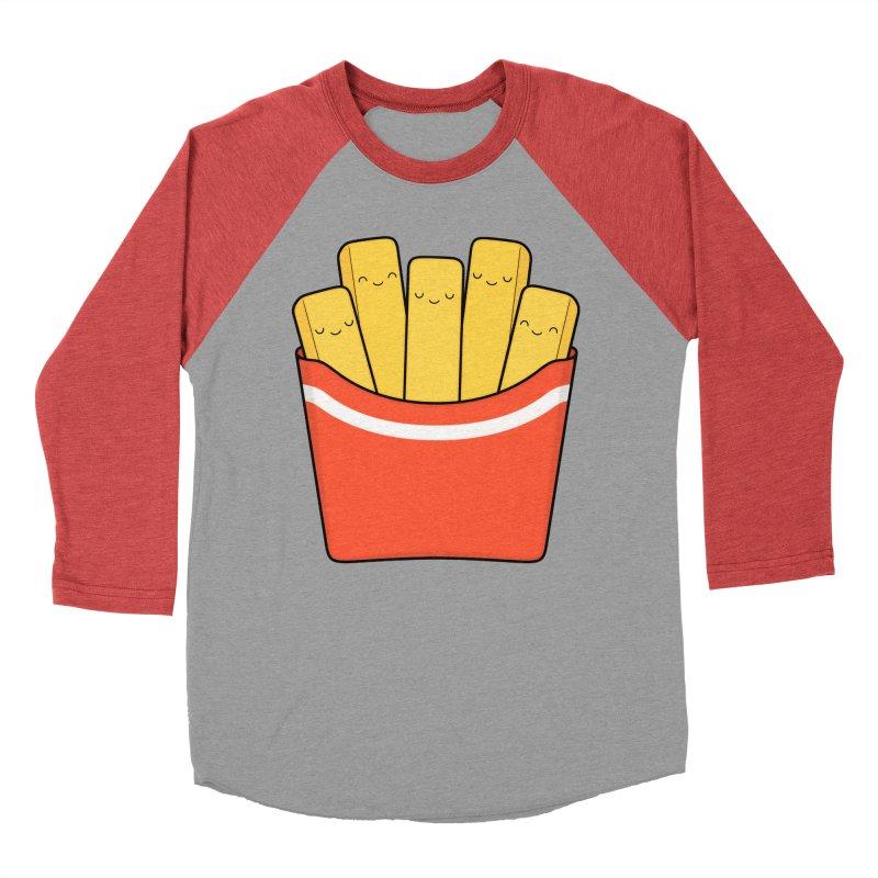 Best Fries Men's Baseball Triblend T-Shirt by Kim Vervuurt
