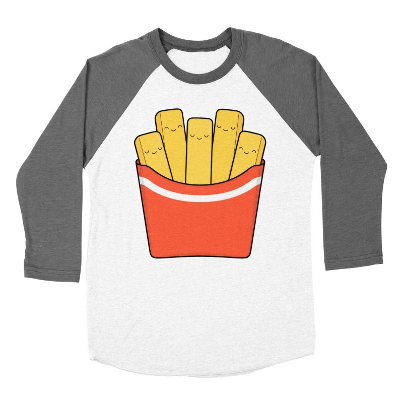 Best Fries Men's Baseball Triblend T-Shirt by Kim Vervuurt