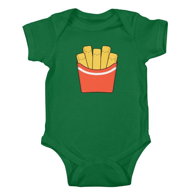 Best Fries Kids Baby Bodysuit by Kim Vervuurt