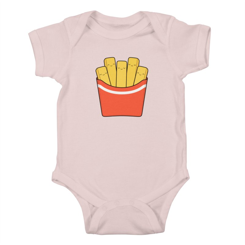 Best Fries Kids Baby Bodysuit by Kim Vervuurt