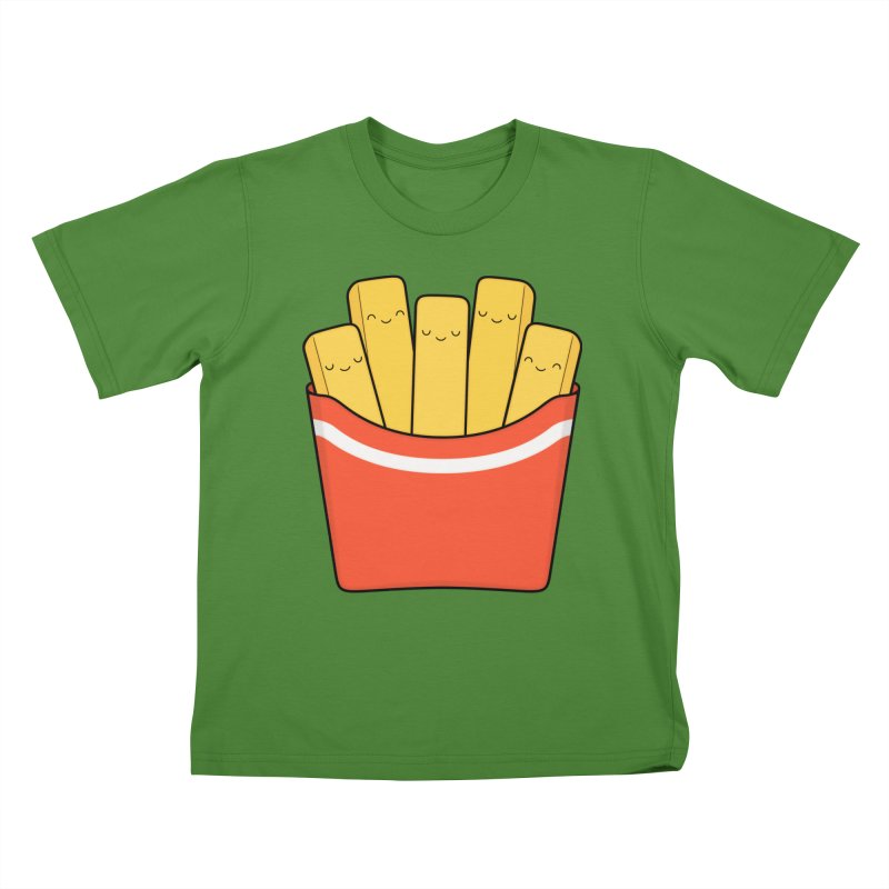 Best Fries Kids T-shirt by Kim Vervuurt