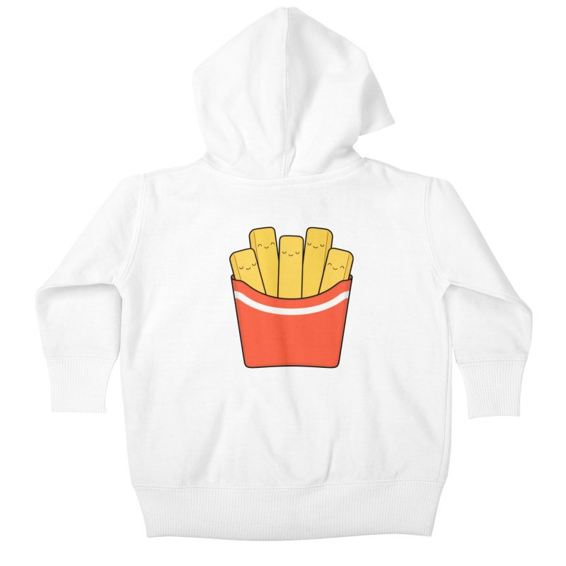 Best Fries Kids Baby Zip-Up Hoody by Kim Vervuurt