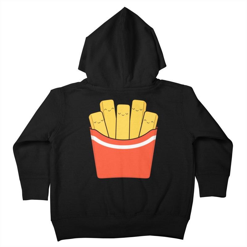 Best Fries Kids Toddler Zip-Up Hoody by Kim Vervuurt