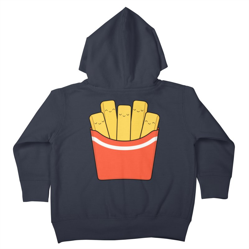 Best Fries Kids Toddler Zip-Up Hoody by Kim Vervuurt
