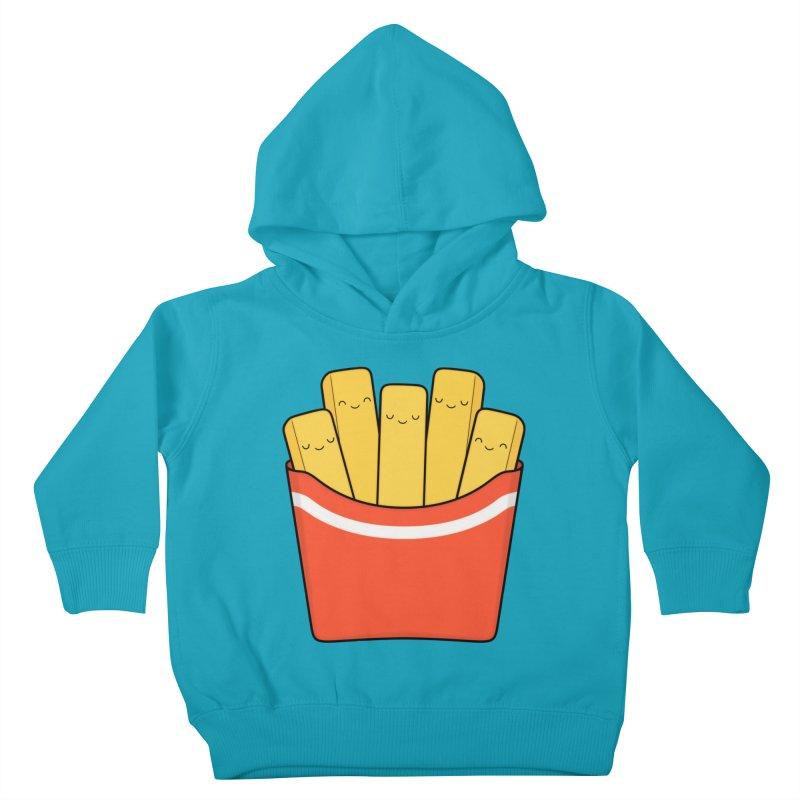 Best Fries Kids Toddler Pullover Hoody by Kim Vervuurt