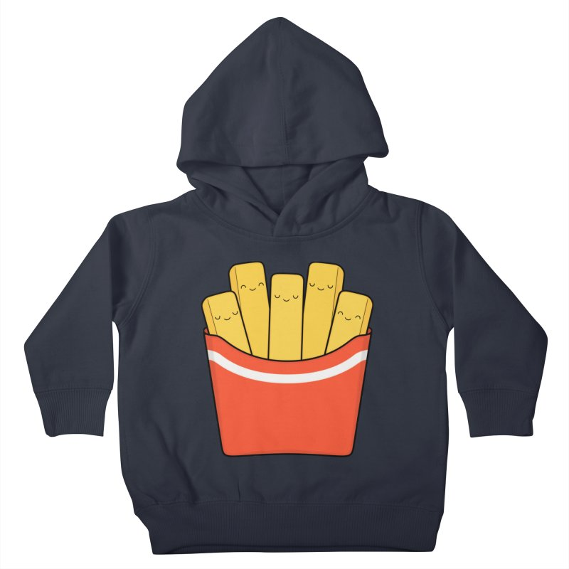 Best Fries Kids Toddler Pullover Hoody by Kim Vervuurt