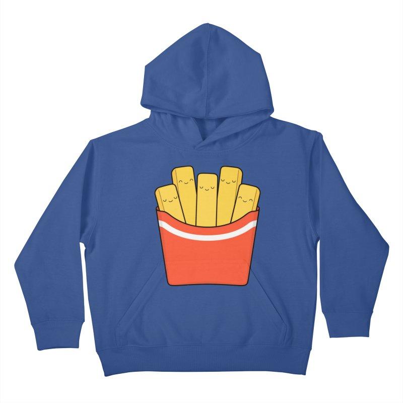 Best Fries Kids Pullover Hoody by Kim Vervuurt