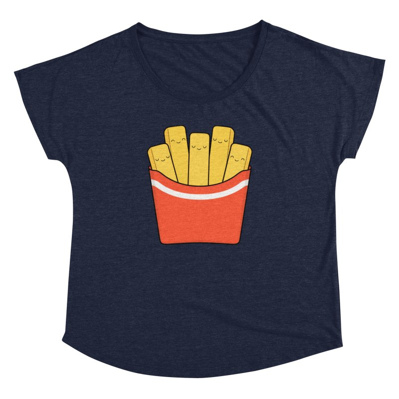 Best Fries Women's Dolman by Kim Vervuurt