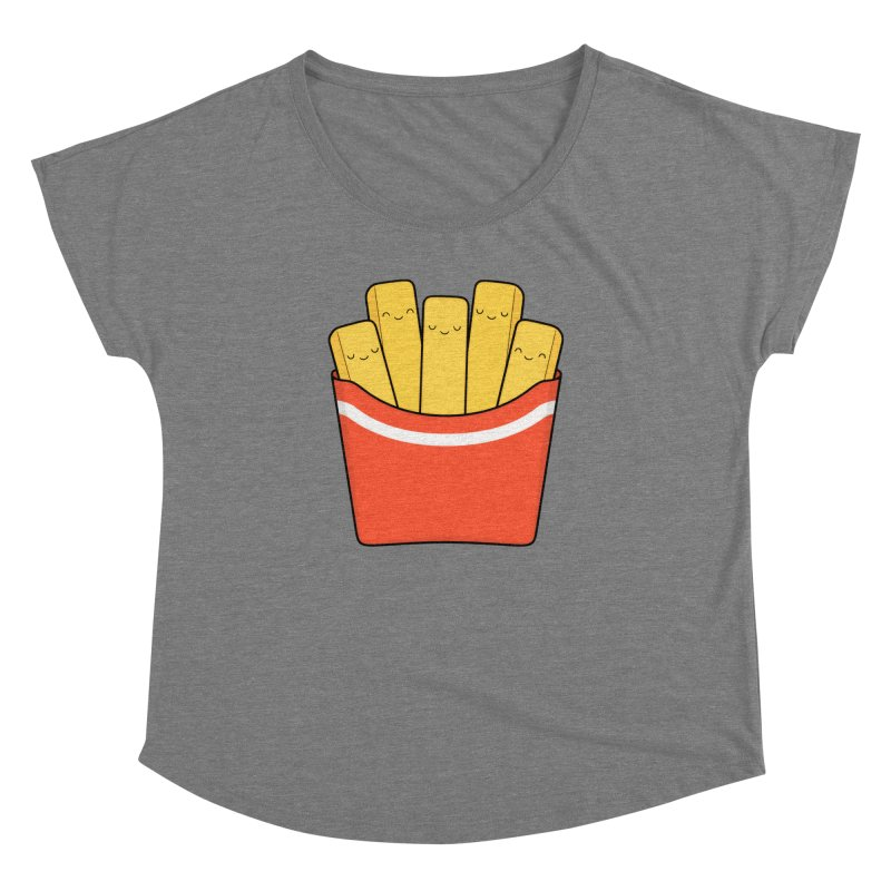 Best Fries Women's Dolman Scoop Neck by Kim Vervuurt