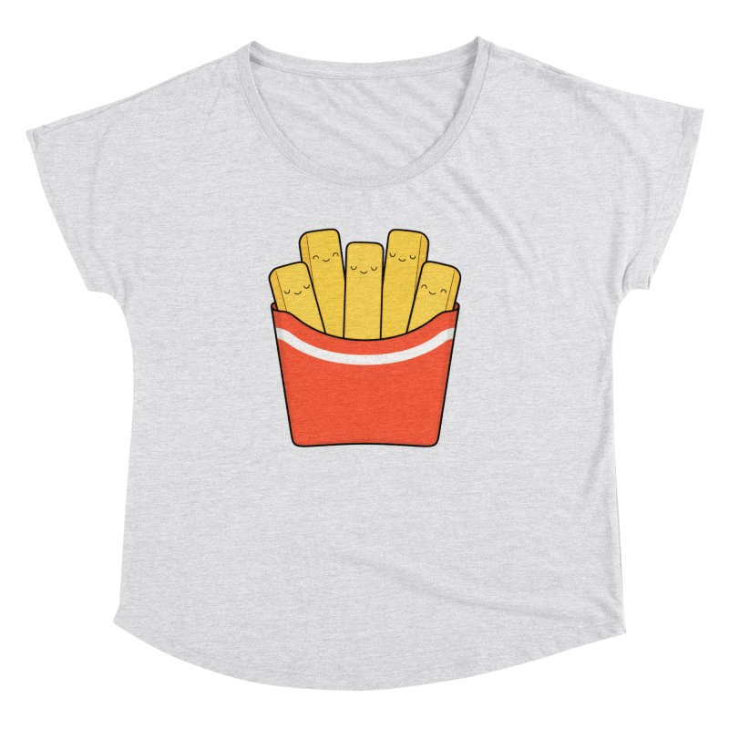 Best Fries Women's Dolman Scoop Neck by Kim Vervuurt