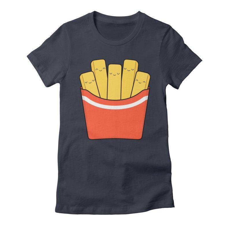 Best Fries Women's T-Shirt by Kim Vervuurt