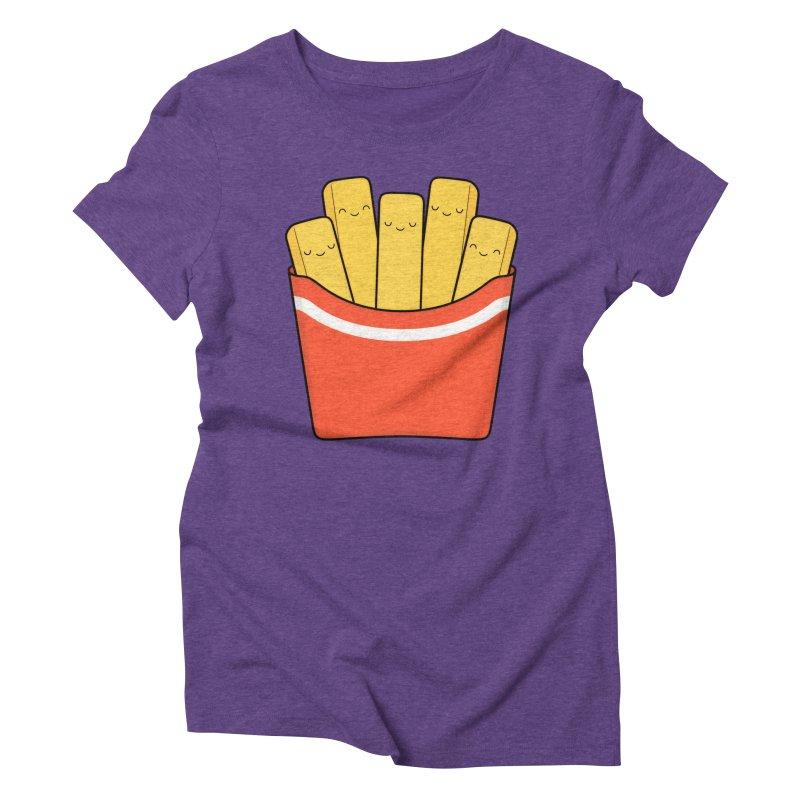 Best Fries Women's Triblend T-Shirt by Kim Vervuurt