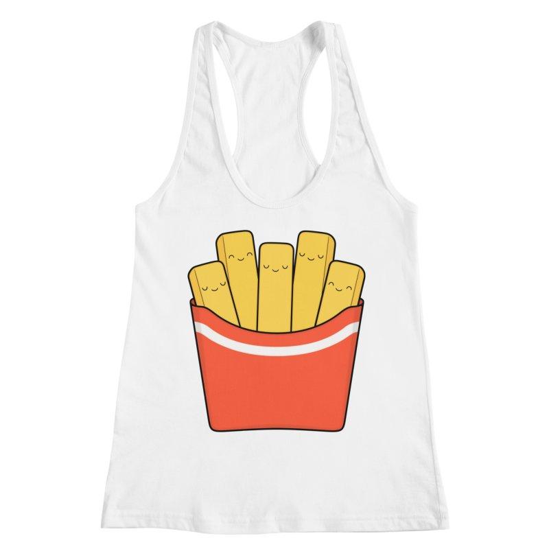 Best Fries Women's Racerback Tank by Kim Vervuurt