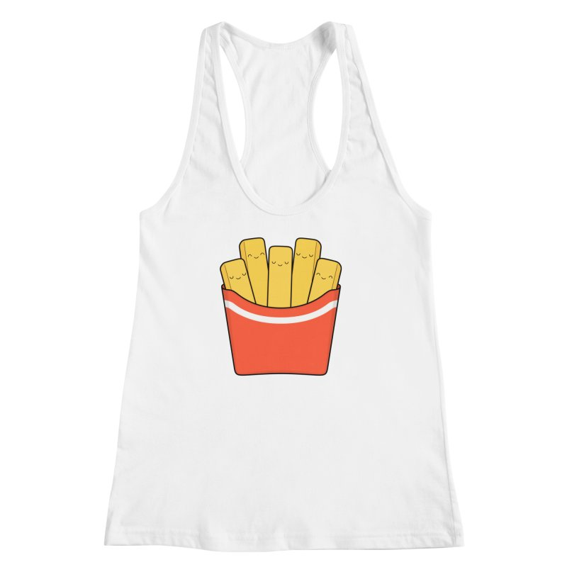 Best Fries Women's Racerback Tank by Kim Vervuurt