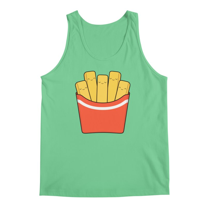 Best Fries Men's Tank by Kim Vervuurt