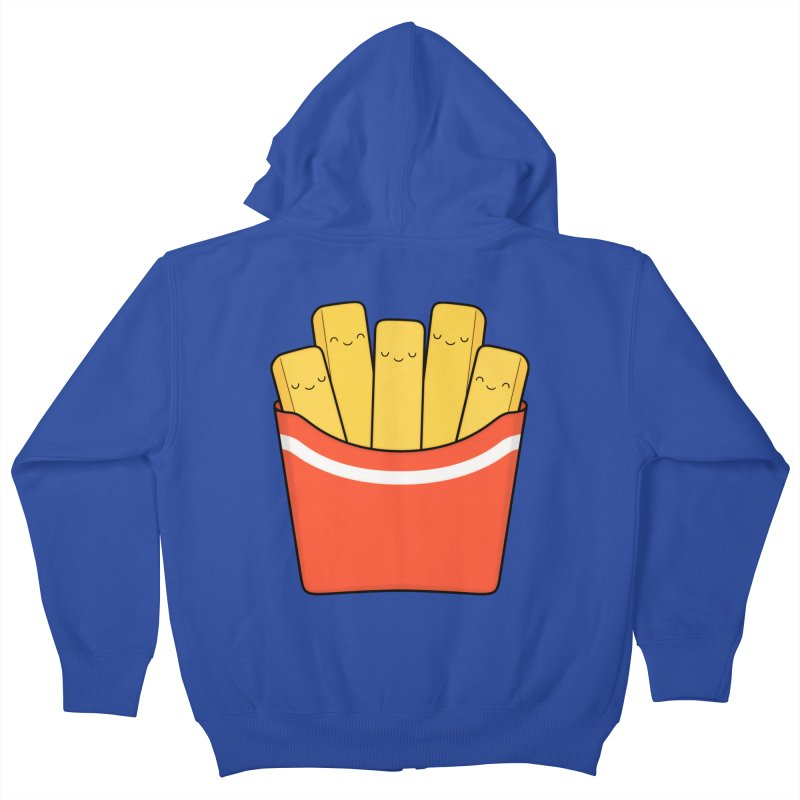 Best Fries Kids Zip-Up Hoody by Kim Vervuurt