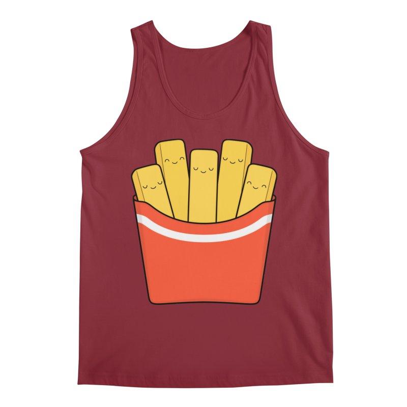 Best Fries Men's Tank by Kim Vervuurt