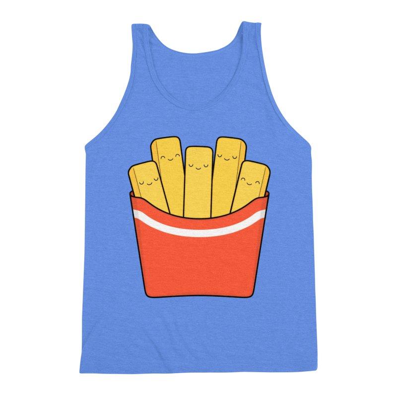 Best Fries Men's Triblend Tank by Kim Vervuurt