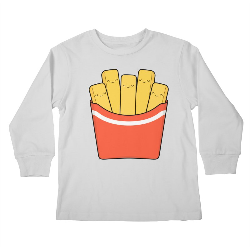 Best Fries Kids Longsleeve T-Shirt by Kim Vervuurt