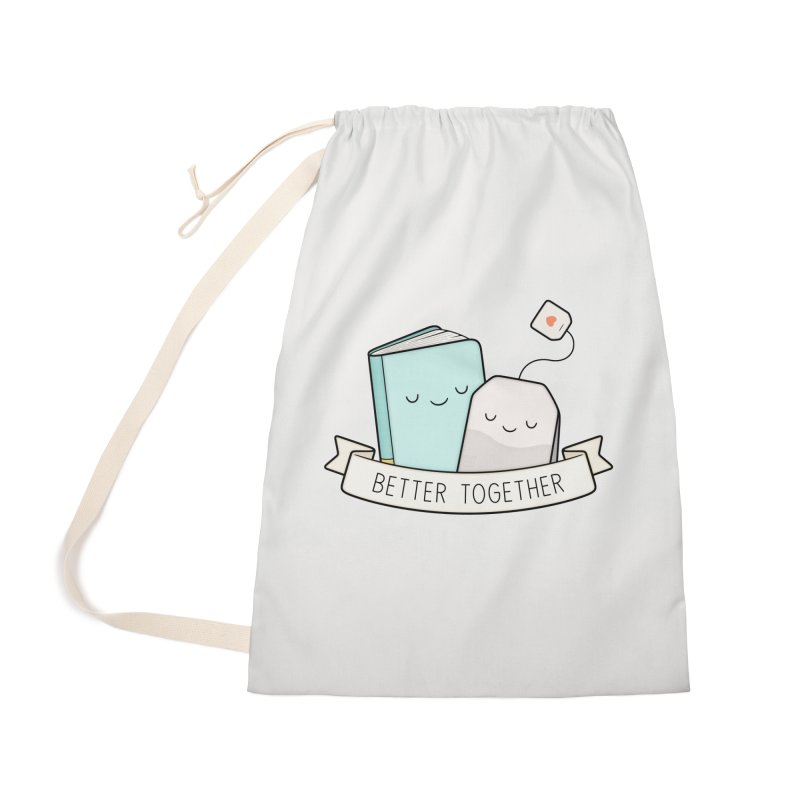Books And Tea | Better Together Accessories Bag by Kim Vervuurt