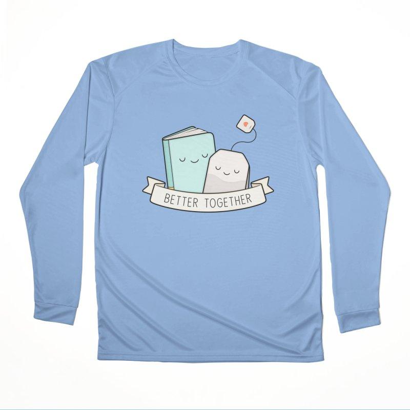 Books And Tea | Better Together Men's Longsleeve T-Shirt by Kim Vervuurt