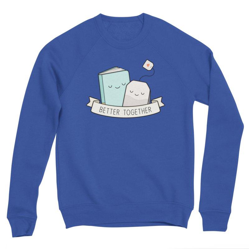 Books And Tea | Better Together Men's Sweatshirt by Kim Vervuurt