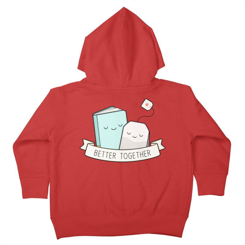 Books And Tea | Better Together Kids Toddler Zip-Up Hoody by Kim Vervuurt