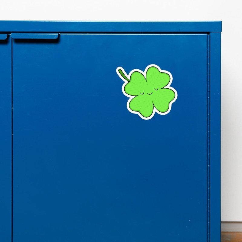 Lucky Clover Accessories Magnet by Kim Vervuurt