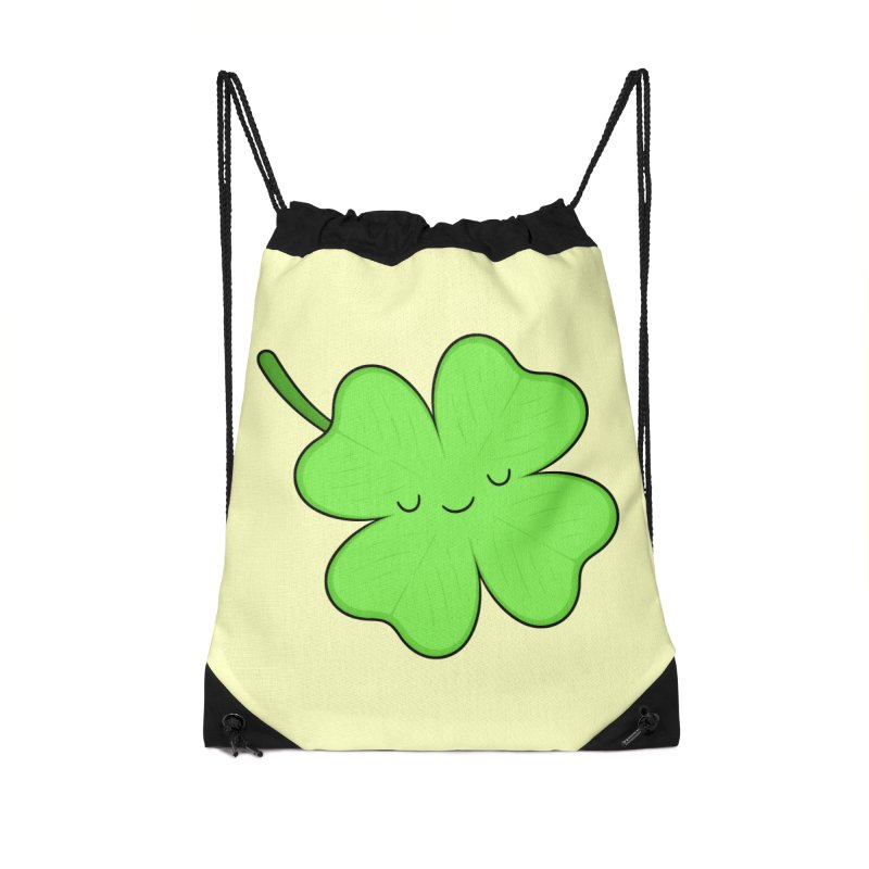 Lucky Clover Accessories Bag by Kim Vervuurt