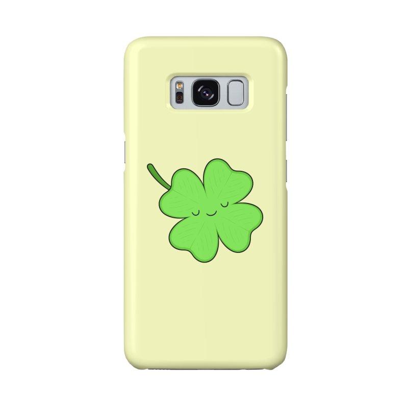 Lucky Clover Accessories Phone Case by Kim Vervuurt