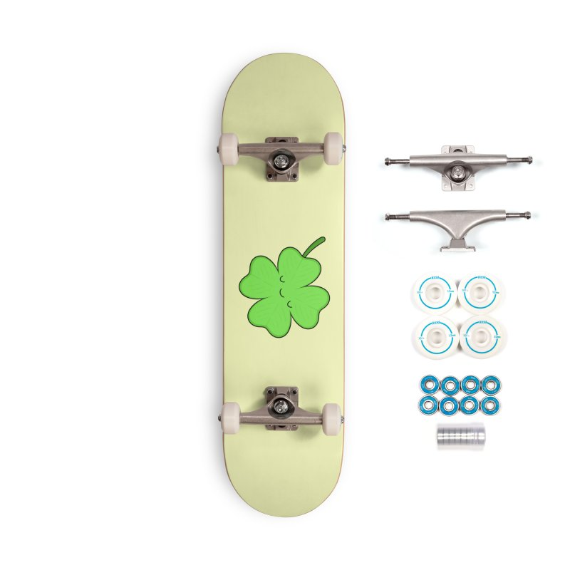 Lucky Clover Accessories Skateboard by Kim Vervuurt