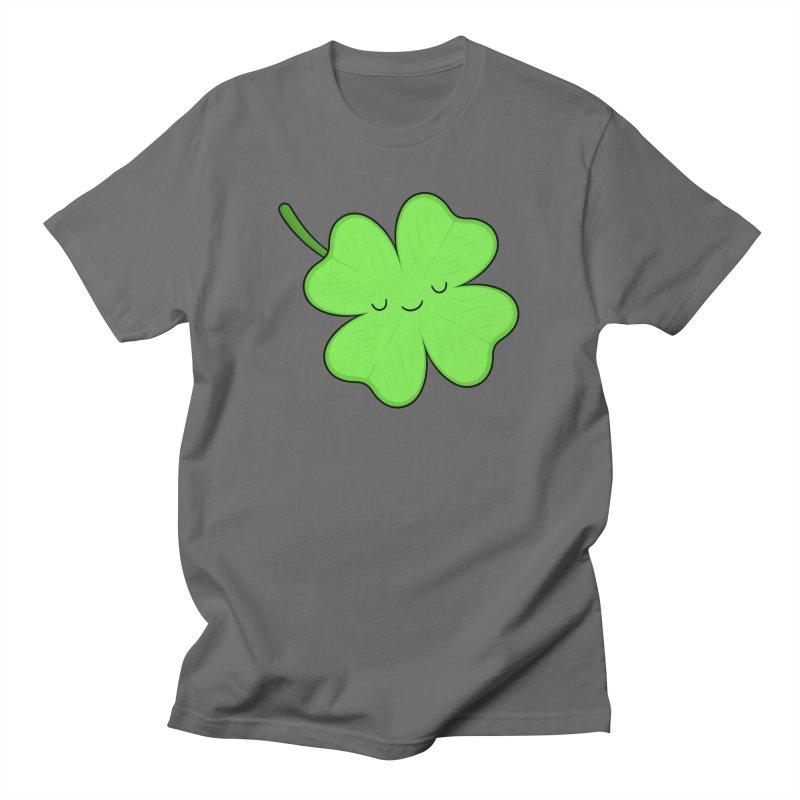 Lucky Clover Men's T-Shirt by Kim Vervuurt