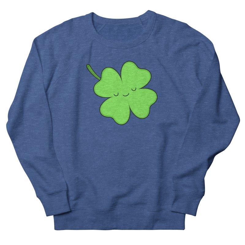 Lucky Clover Men's Sweatshirt by Kim Vervuurt