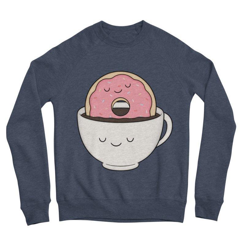 Coffee Loves Donut Men's Sweatshirt by Kim Vervuurt